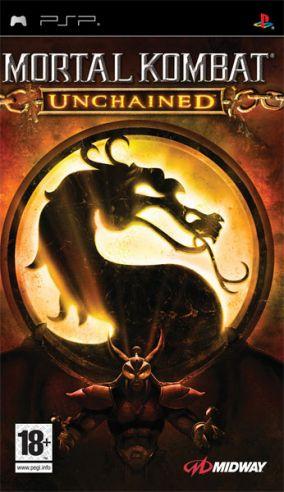 Immagine della copertina del gioco Mortal Kombat: Unchained per Playstation PSP