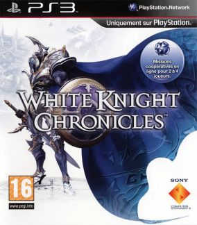 Copertina del gioco White Knight Chronicles per PlayStation 3