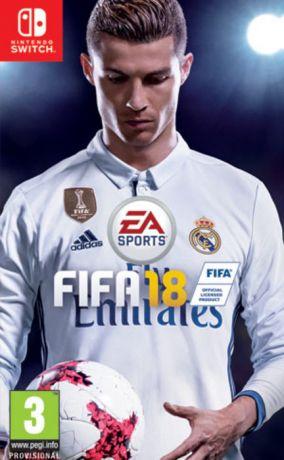 Immagine della copertina del gioco FIFA 18 per Nintendo Switch