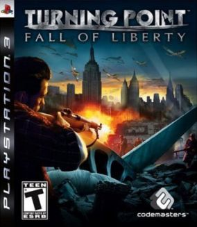 Copertina del gioco Turning Point: Fall of Liberty per PlayStation 3