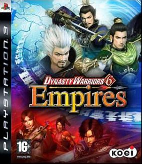Copertina del gioco Dynasty Warriors 6 Empires per PlayStation 3