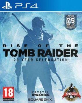 Immagine della copertina del gioco Rise of the Tomb Raider per Playstation 4