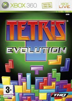 Copertina del gioco Tetris Evolution per Xbox 360
