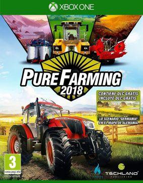 Immagine della copertina del gioco Pure Farming 2018 per Xbox One
