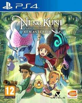 Copertina del gioco Ni no Kuni: La minaccia della Strega Cinerea Remastered per PlayStation 4