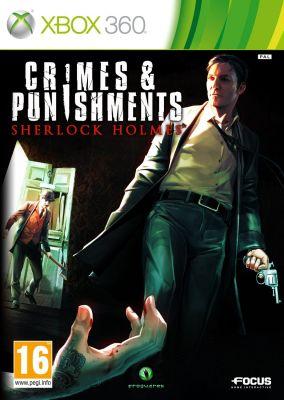 Copertina del gioco Sherlock Holmes: Crimes & Punishments per Xbox 360