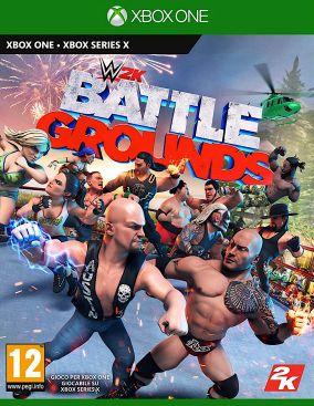Copertina del gioco WWE 2K Battlegrounds per Xbox One