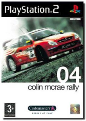 Immagine della copertina del gioco Colin McRae Rally 04 per PlayStation 2