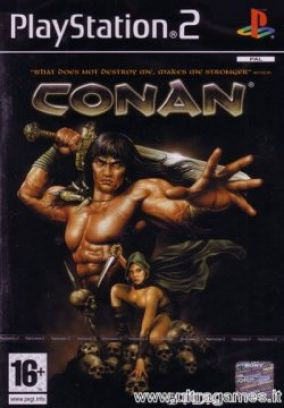 Copertina del gioco Conan per PlayStation 2