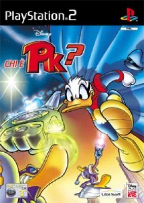 Copertina del gioco Chi è PK? per PlayStation 2