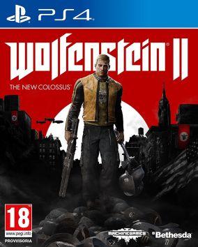 Immagine della copertina del gioco Wolfenstein II: The New Colossus per PlayStation 4