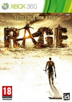 Immagine della copertina del gioco Rage per Xbox 360