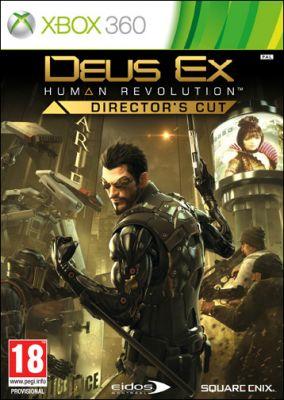Copertina del gioco Deus Ex: Human Revolution Director's Cut per Xbox 360