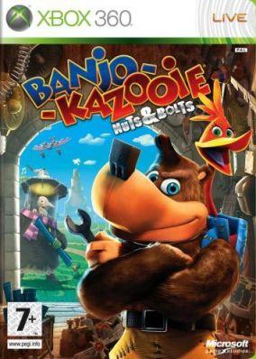 Copertina del gioco Banjo-Kazooie: Viti e Bulloni per Xbox 360