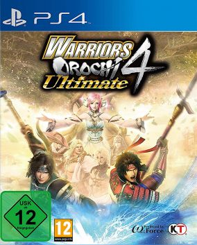 Copertina del gioco Warriors Orochi 4 Ultimate per PlayStation 4