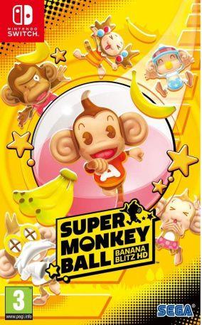 Copertina del gioco Super Monkey Ball Banana Mania per Nintendo Switch