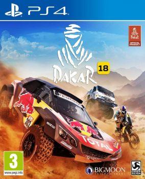 Immagine della copertina del gioco Dakar 18 per PlayStation 4