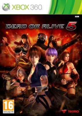 Copertina del gioco Dead or Alive 5 per Xbox 360