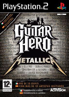 Immagine della copertina del gioco Guitar Hero: Metallica per PlayStation 2