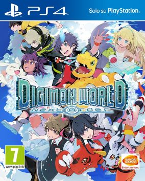 Immagine della copertina del gioco Digimon World: Next Order per Playstation 4