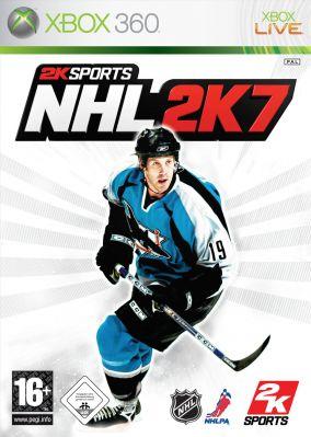 Copertina del gioco NHL 2K7 per Xbox 360