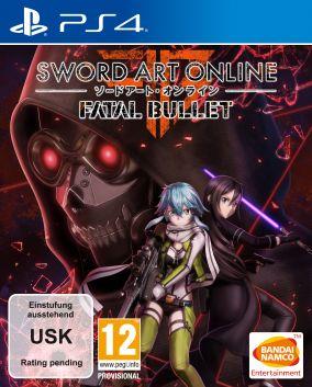 Immagine della copertina del gioco Sword Art Online: Fatal Bullet per PlayStation 4