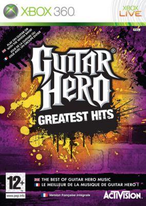Immagine della copertina del gioco Guitar Hero: Greatest Hits per Xbox 360