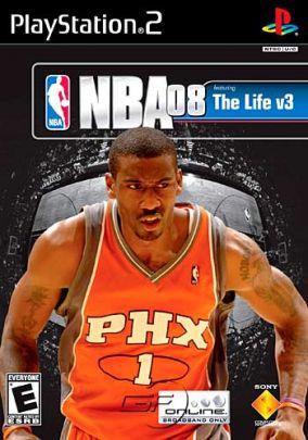 Copertina del gioco NBA 08 per PlayStation 2