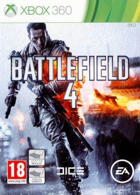Copertina del gioco Battlefield 4 per Xbox 360