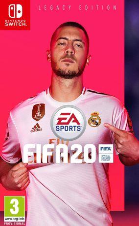 Immagine della copertina del gioco FIFA 20 per Nintendo Switch
