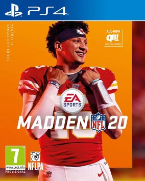 Copertina del gioco Madden NFL 20 per PlayStation 4