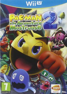 Immagine della copertina del gioco PAC-MAN e le Avventure Mostruose 2 per Nintendo Wii U
