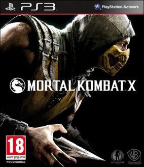 Copertina del gioco Mortal Kombat X per PlayStation 3