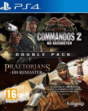 Copertina del gioco Commandos 2 & Praetorians: HD Remaster Double Pack per PlayStation 4