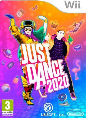Immagine della copertina del gioco Just Dance 2020 per Nintendo Wii