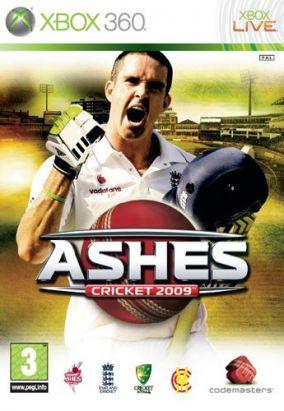 Copertina del gioco Ashes Cricket 2009 per Xbox 360