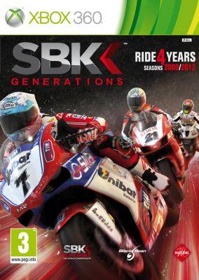 Copertina del gioco SBK Generations per Xbox 360
