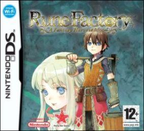 Immagine della copertina del gioco Rune Factory 2: A Fantasy Harvest Moon per Nintendo DS