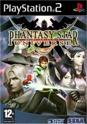 Immagine della copertina del gioco Phantasy Star Universe per PlayStation 2