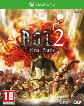 Copertina del gioco Attack on Titan 2: Final Battle per Xbox One