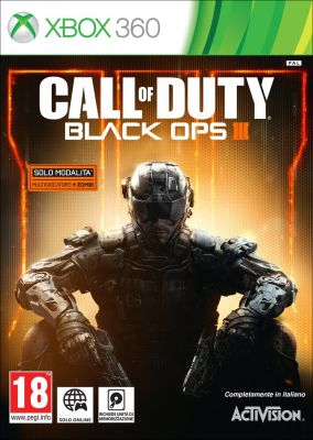 Immagine della copertina del gioco Call of Duty Black Ops III per Xbox 360