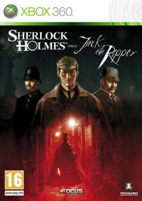 Copertina del gioco Sherlock Holmes contro Jack Lo Squartatore per Xbox 360