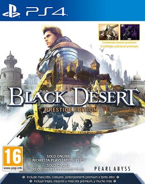 Copertina del gioco Black Desert Prestige Edition per PlayStation 4
