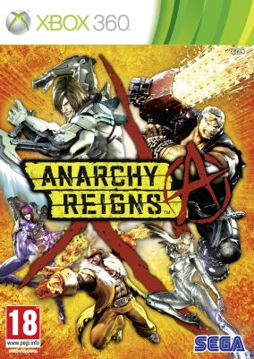 Copertina del gioco Anarchy Reigns per Xbox 360