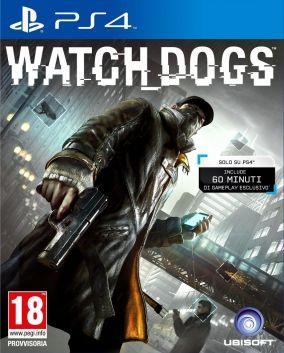 Immagine della copertina del gioco Watch Dogs per Playstation 4