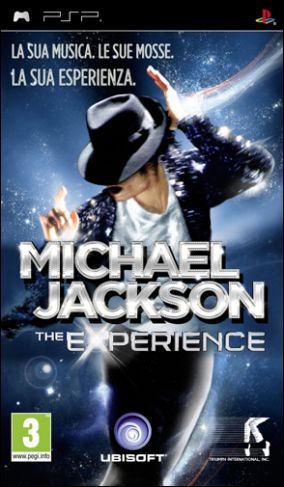 Copertina del gioco Michael Jackson: The Experience per PlayStation PSP