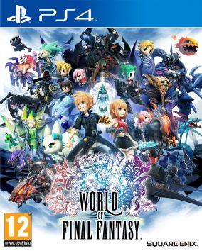 Immagine della copertina del gioco World of Final Fantasy per PlayStation 4