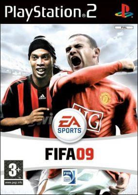 Copertina del gioco FIFA 09 per PlayStation 2