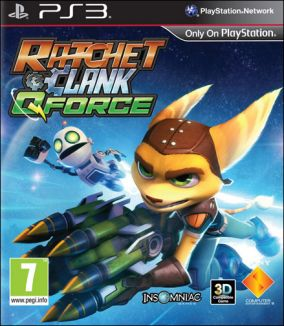 Immagine della copertina del gioco Ratchet & Clank: QForce per PlayStation 3