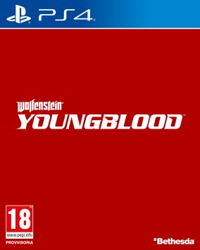 Copertina del gioco Wolfenstein: Youngblood per PlayStation 4